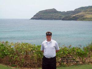 2014-05-04--#09--Golfing - John at 14th hole