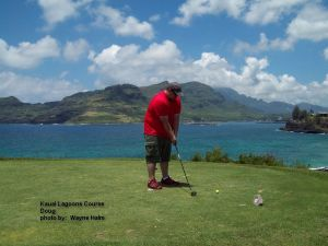 2014-05-22--#04--Golf at Kauai Lagoons - Doug