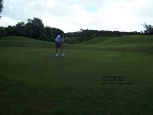 Axel on 5th hole