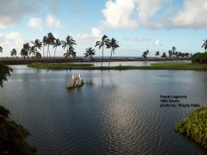 Kauai Lagoons 18th Green