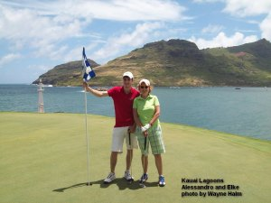 2014-08-06--#09--Golf at Kauai Lagoons - Alessandro and Elke.jpg