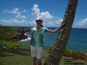 On the Kauai Lagoons Course - Sachiko Suzuki