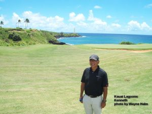 On the Kauai Lagoons Course - Kenneth Kimura
