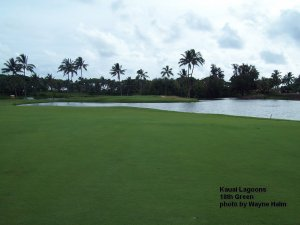 Kauai Lagoons Course 18th Green