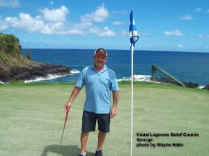 George on the Kauai Lagoons Golf Club