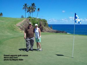Kauai Lagoons Golf Club - Golfers by the Ocean - Oh yeah!