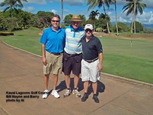 2014-09-20--#01--Golf at Kauai Lagoons - Bill Wayne and Barry.jpg