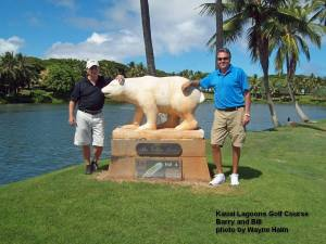 Barry Bill and the Bear - I suspect they will meet again.