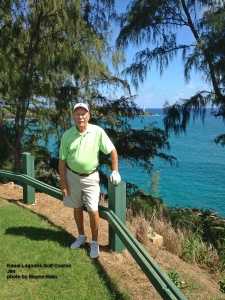 Jim on the 16th Tee