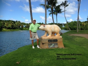 Jim and the Bear after 18