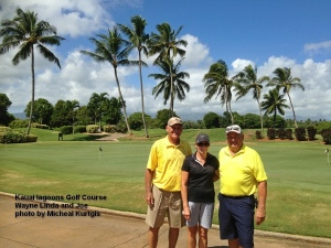 2014-10-15--#01--Golf at Kauai Lagoons - Wayne Linda and Joe.jpg