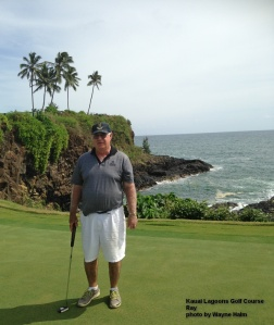 Ray and his putter -- I think he calls it 'The One Iron' now.