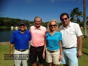 2014-11-14--#01--Golf at Kauai Lagoons - Kenneth Wayne Ann and Scott.jpg
