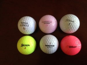 Other balls I have