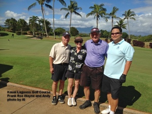 2015-01-29--#01--Golf at Kauai Lagoons - Frank Roe Wayne and Andy.jpg
