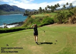Kauai Lagoons 14th tee