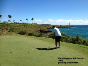 Kauai Lagoons 14th green