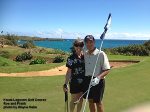 Kauai Lagoons 15th green
