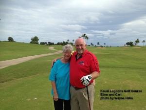 Kauai Lagoons Golf Course 10th tee
