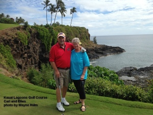 Kauai Lagoons Golf Course 16th green