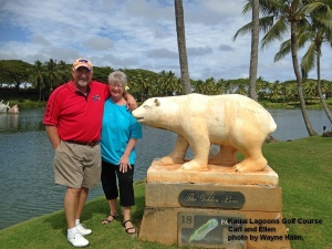 Kauai Lagoons Golf course The Golden Bear