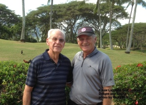 2015-02-05--#01--Golf at Kauai Lagoons - Dwight and Wayne
