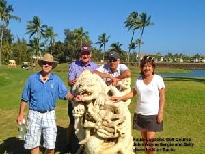 2015-02-22--#01--Golf at Kauai Lagoons - John Wayne Sergio and Sally.jpg