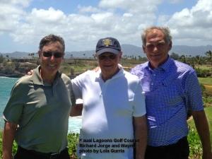 2015-04-19--#01--Golf at Kauai Lagoons - Richard Jorge and Wayne
