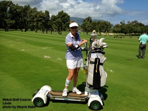 2015-05-07--#01--Golf at Makai - Linda on Board