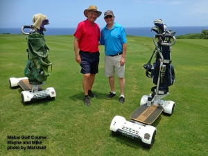 2015-07-03--#01--Golf at Makai Course - Wayne and Mike