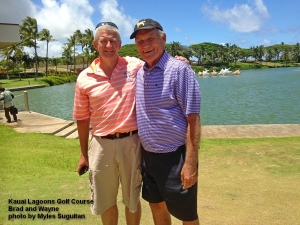 2015-07-09--#01--Golf at Kauai Lagoons - Brad. and Waynejpg