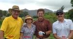 2015-09-13--#02--Golf at Kauai Lagoons - Wayne Darlene Dennis and Stan