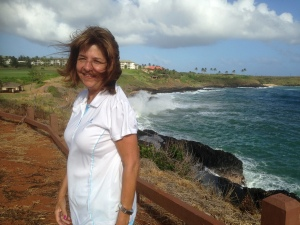 Sally – The trade winds were blowing strong that day.
