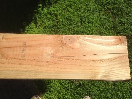 2015-11-17--#01--Deck Rebuild - Unsanded Plank