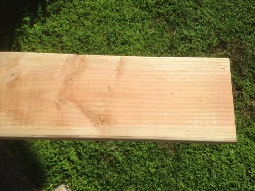 2015-11-17--#02--Deck Rebuild - Sanded Plank