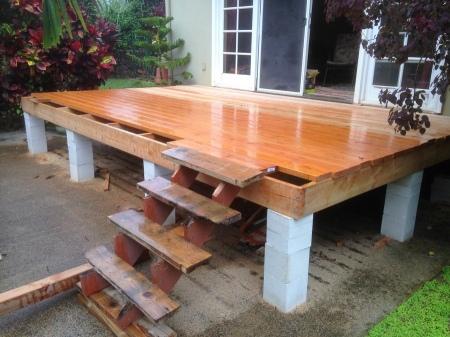 2015-11-18--#01--Deck Rebuild - rain