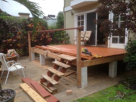 2015-11-22--#01--Deck Rebuild - First posts