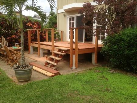 2015-11-26--#01--Deck Rebuild - Railing