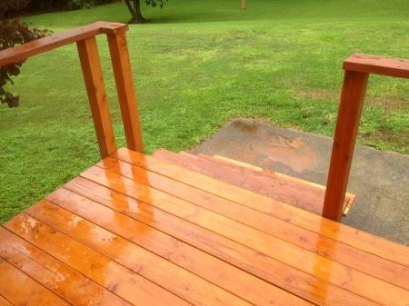 2015-11-29--#01--Deck Rebuild - rain