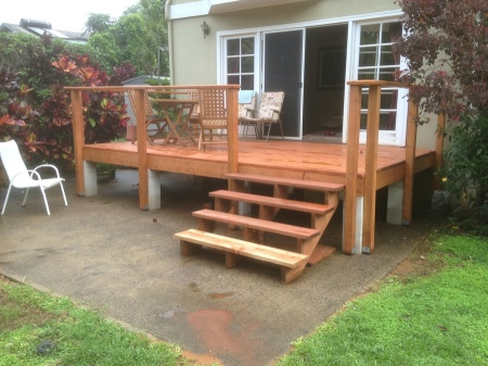 2015-12-04--#01--Deck Rebuild - Deck