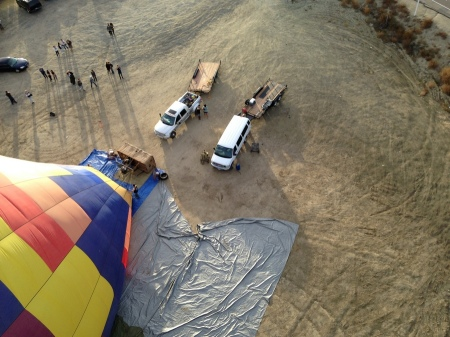 2015-12-06--#05--Hot Air Ballooning - Take off