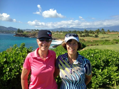2015-12-13--#04-- Golf at Hokuala - Barb and Sheila