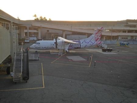 Ohana Airlines plane to Lanai.