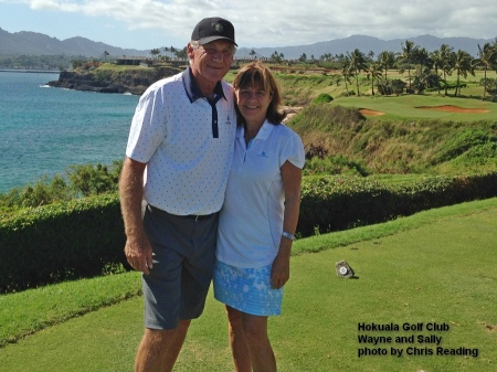 2016-01-17--#01--Golf at Hokuala - Wayne and Sally