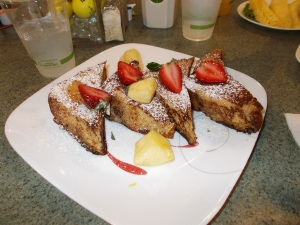 The French Toast served at the Ho'okipa Café.