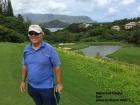 Dan on the Makai Golf Course on Kauai.