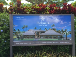 The planned clubhouse at Hokuala.