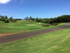 The 8th hole on the Ocean Course at Hokuala.
