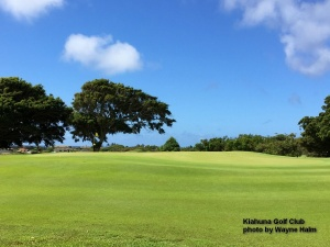 The Kiahuna Golf Club on Kauai.