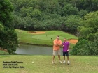 Matt and Kevin on the 6th Tee at the Puakea Golf Course on Kauai.